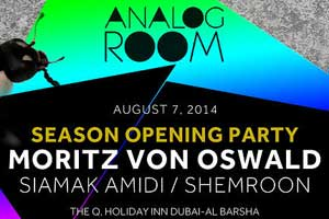 Analog Room Season Opening Party