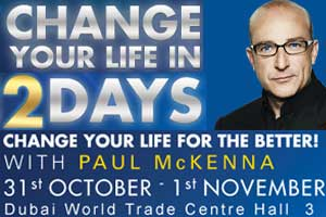 Paul McKenna's 'CHANGE YOUR LIFE IN 2 DAYS