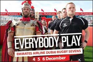 Emirates Airline Dubai Rugby Sevens Event 2014