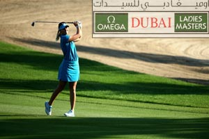 Omega Dubai Ladies Masters 2014 at the Emirates Golf Club