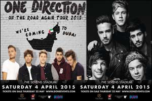 One Direction Concert - On The Road Again Tour 2015