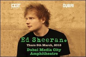 Ed Sheeran Live in Dubai 2015