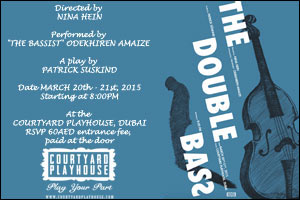 THE DOUBLE BASS Courtyard Playhouse Dubai