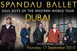 Spandau Ballet Live in Dubai 2015