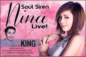 Nina Live in Dubai!
