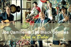 Joe Camilleri & The Black Sorrows Live in Dubai 2015