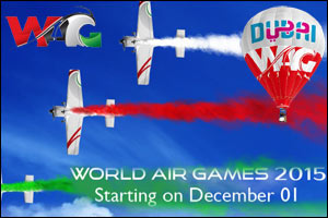 The World Air Games (FAI) 2015