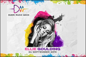 Ellie Goulding to perform at Dubai Music Week - 2015