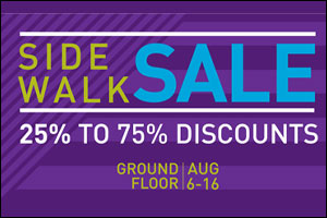 Al Ghurair Centre Side Walk Sale