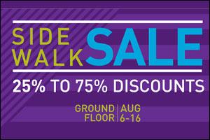 Al Ghurair Centre Side Walk Sale