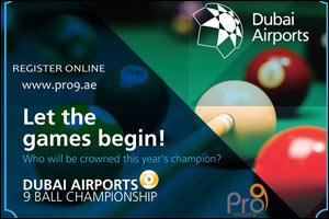3rd Dubai Airports 9ball Championship