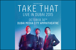 Take That Live in Dubai 2015