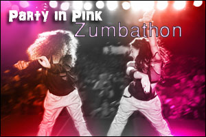 """Fitness First """"Party in Pink"""" Zumbathon"""