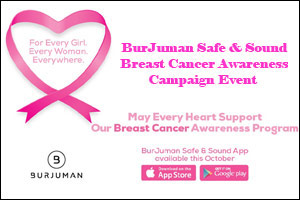 BurJuman Safe & Sound Breast Cancer Awareness Campaign Event