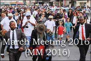 March Meeting 2016 (MM 2016)
