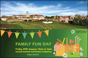 Jumeirah Golf Estates Family Fun Day