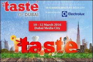 Taste of Dubai 2016