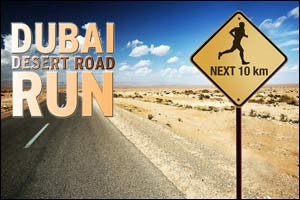 Dubai Desert Road Run - June 2016
