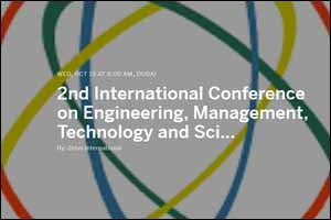 2nd International Conference on Engineering, Management, Technology and Science 2016 (ICEMTS 2016)