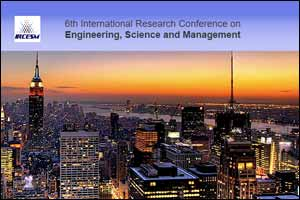 Sixth International Research Conference on Engineering, Science and Management 2016 (IRCESM 2016),