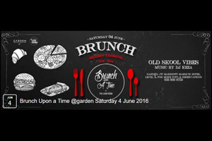 Brunch Upon A Time Sat @The Living Room-Garden JW Marriott Marquis Level 5