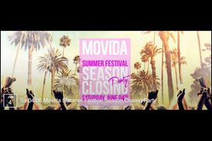 Movida Summer Festival - Season Closing Party