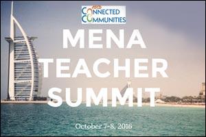 MENA Teacher Conference