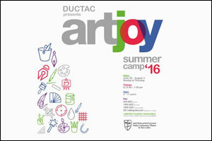DUCTAC Summer Camp 2016 : Art Joy in Mall of the Emirates, Dubai