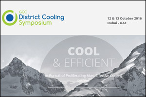 GCC District Cooling Symposium Dubai, 2016