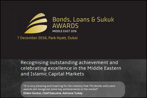 Bonds, Loans and Sukuk Middle East Awards 2016