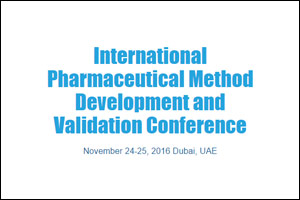 International Pharmaceutical Method Development and Validation Conference
