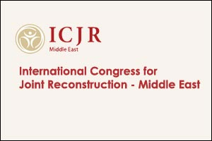 International Congress for Joint Reconstruction - Middle East 2016