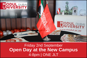 MODUL University Dubai Open Day at the New Campus