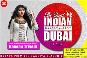 The Great Indian Dandiya Fest 2016