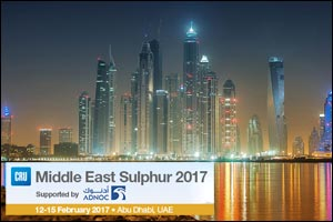 CRU's Middle East Sulphur 2017