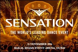 Sensation Dubai 2016