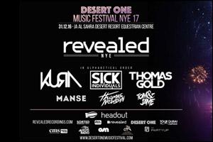 Desert One Music Festival NYE 2017