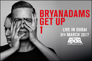Bryan Adams Get Up Live in Dubai