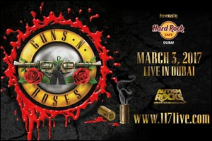 Guns N Roses Live in Dubai