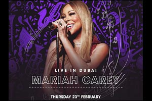 Mariah Carey Live in Dubai