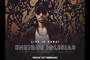 Enrique Iglesias in Dubai