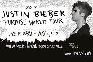 Justin Bieber Live in Dubai