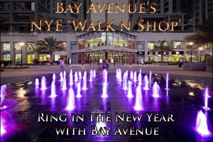 Bay Avenue's NYE 'Walk n Shop' | Ring in the New Year with Bay Avenue