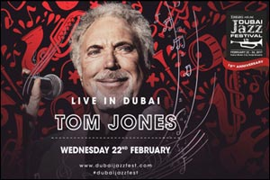 Sir Tom Jones Live in Dubai