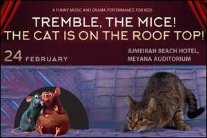 Tremble Mice- the Cat is on the Rooftop!