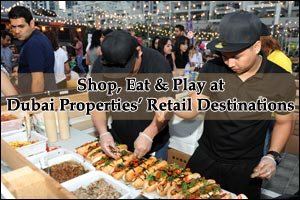 Shop, Eat, and Play at Dubai Properties' Retail Destinations - Bay Square, Bay Avenue, Marasi  ...