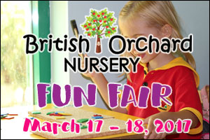 British Orchard Nursery Fun Fair