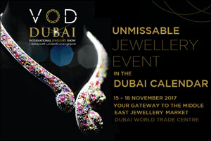 VOD Dubai International Jewellery Week 2017