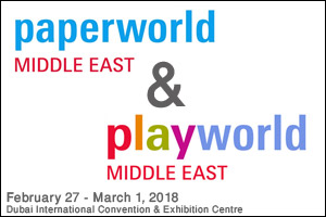 Paperworld Middle East & Playworld Middle East 2018
