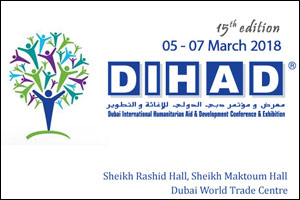Dubai International Humanitarian Aid & Development Conference & Exhibition – DIHAD 2018